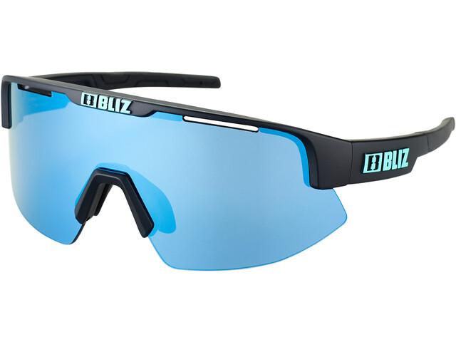 Bliz Matrix Small Nano Optics Nordic Light Glasses, matte black/smoke/icy blue multi